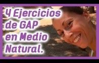 4 EJERCICIOS DE GAP EN MEDIO NATURAL